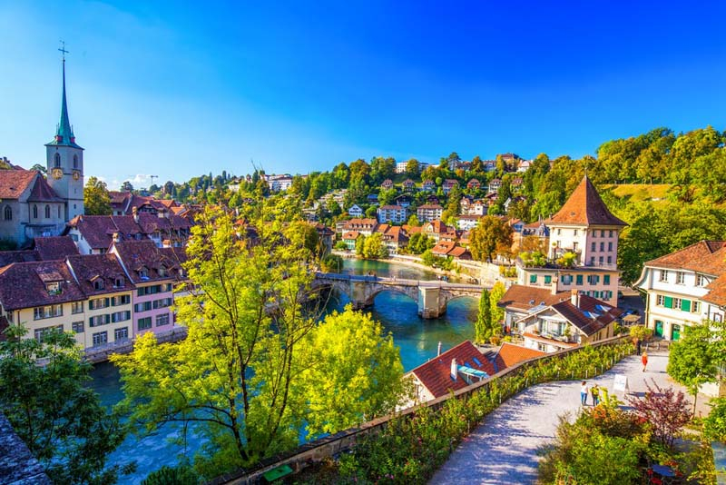 Bern mệnh danh là thủ đô tuyệt vời nhất của Thụy Sĩ
