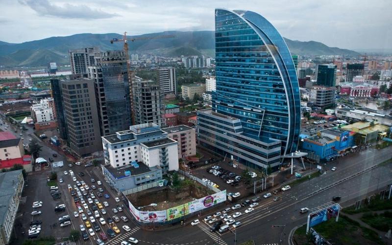 Thủ đô  Ulaanbaata  của Mông Cổ