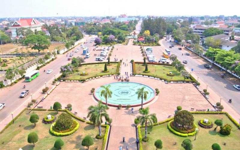Thủ đô Vientiane