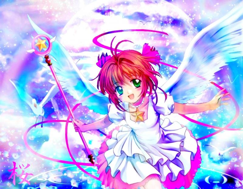 Những bộ trang phục của Sakura khi chiến đấu còn được thiết kế rất kì công bởi Tomoyo-bạn thân của Sakura.