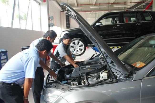 Thu mua ô tô cũ chính hãng giá cao