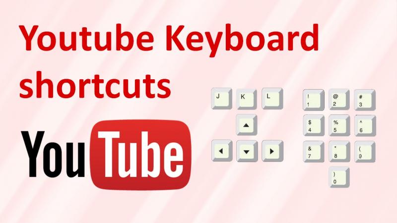 Các phím cần biết khi xem Youtube