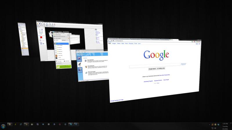 Windows + Tab giúp bạn hoán đổi chương trình nhanh chóng