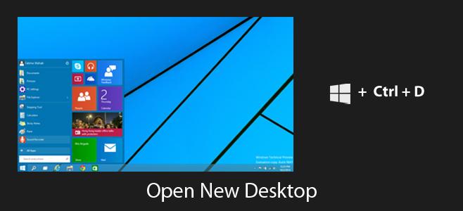 Windows + D sẽ cứu bạn trong nhiều tình huống nhạy cảm