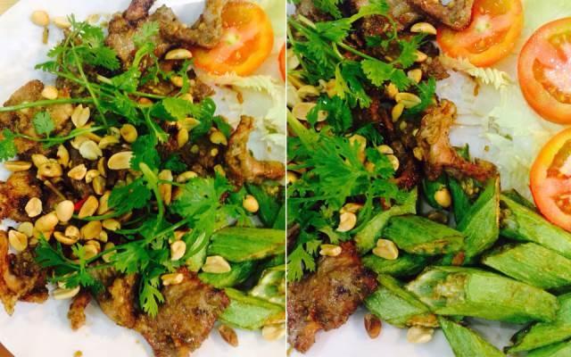 Món ăn được chế biến từ hải sản ở Thu Vân