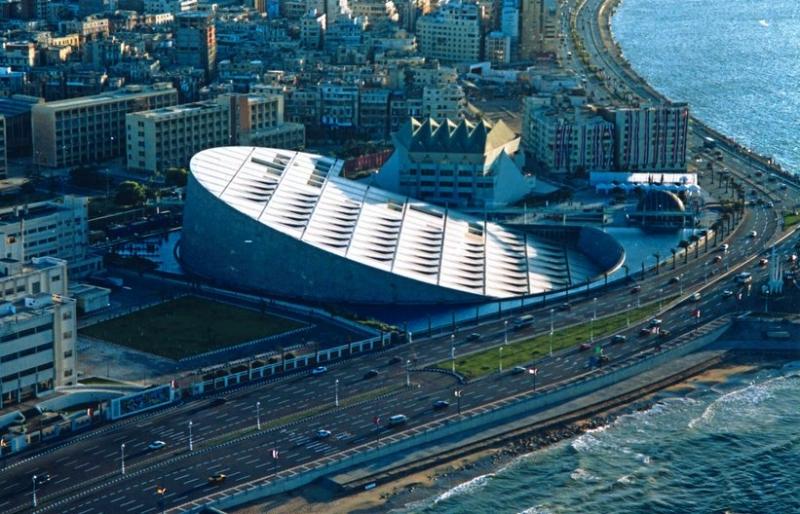 Thư viện Bibliotheca Alexandrina, Ai Cập