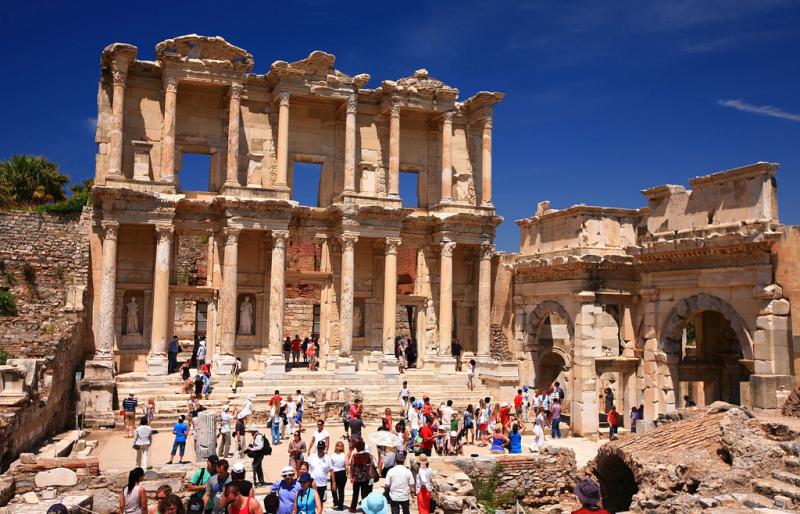 Thư viện Celsus, Thổ Nhĩ Kỳ