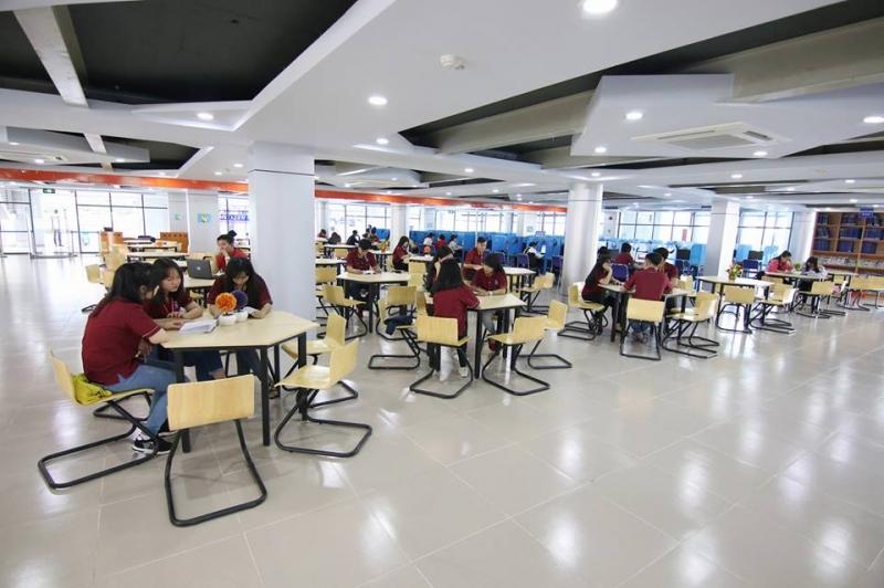 Thư viện của Trường ĐH Nguyễn Tất Thành