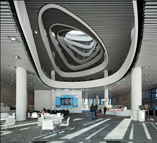 Thiết kế độc - lạ - đẹp mắt của Thư viện Duncan Rice của Vương quốc Anh