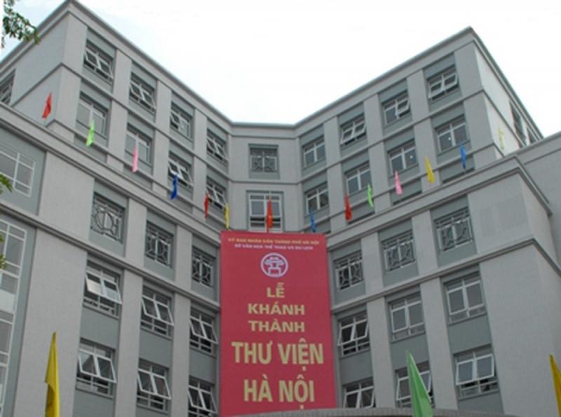 Thư viện Hà Nội.
