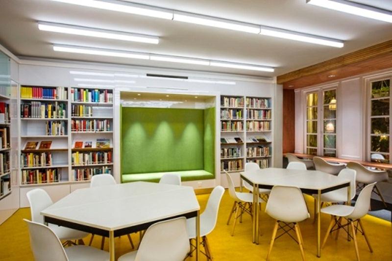 Tại thư viện Goethe bạn có thể tham gia các lớp bồi dưỡng kĩ năng free