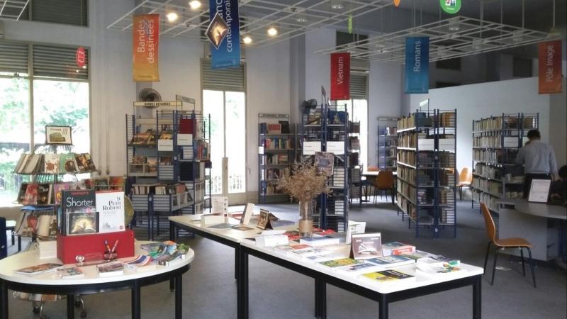 Thư viện Idecaf - Viện Trao đổi văn hóa Pháp Idecaf