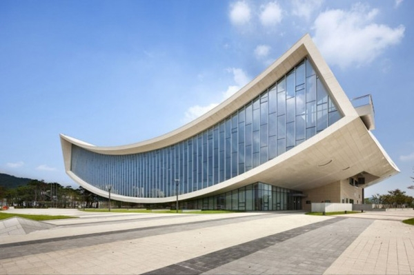 Thư viện quốc gia thành phố Sejong, Hàn Quốc.