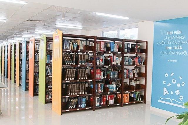Thư viện trường ĐH HUTECH
