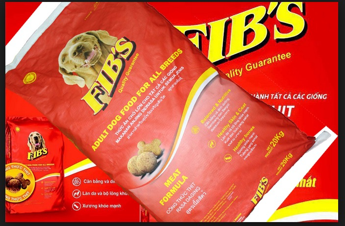 Thức ăn cho chó Fib's