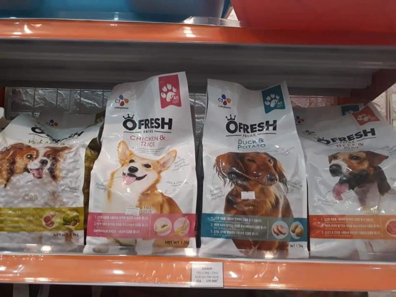 Thức ăn cho chó Ofresh