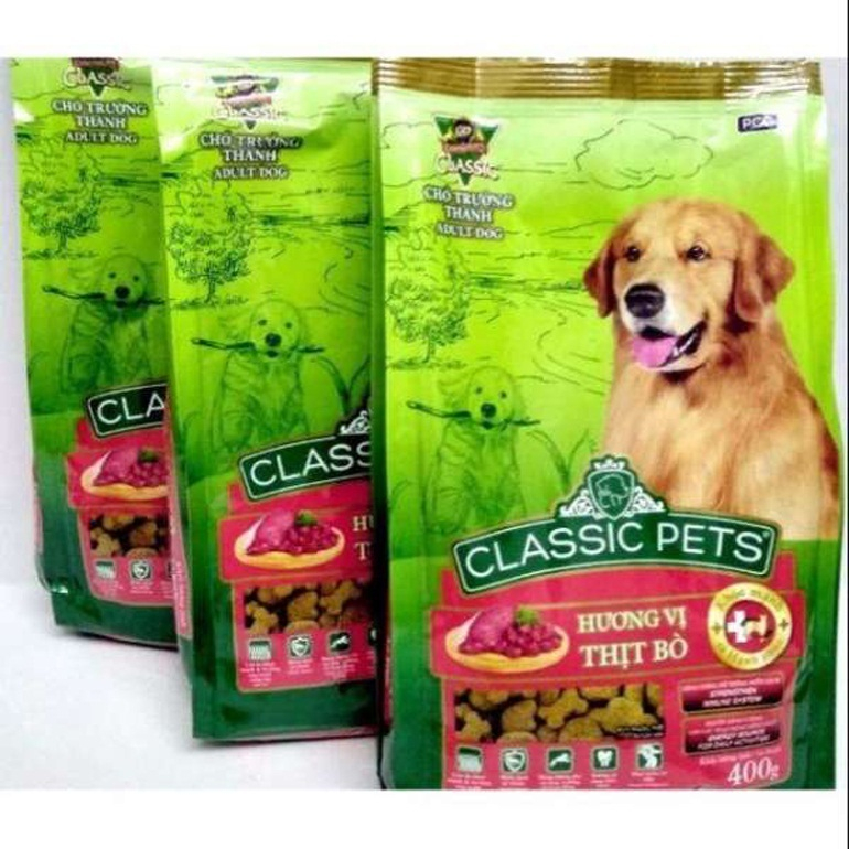 Thức ăn khô cho chó Classic Pets