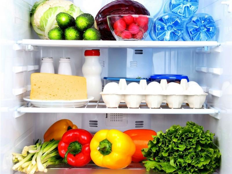 Thức ăn không giữ trong tủ lạnh