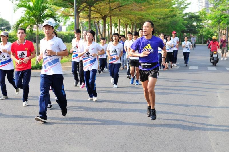 Chạy bộ là một hoạt động hữu ích
