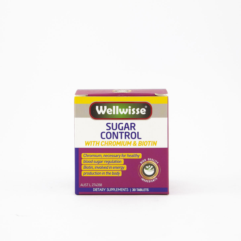 Thực phẩm bảo vệ sức khỏe cân bằng đường huyết Wellwisse Sugar Control
