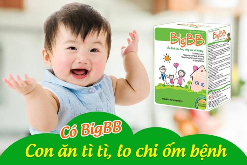 Thực phẩm bảo vệ sức khỏe cốm BigBB