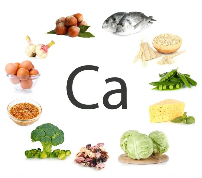Thực phẩm chứa canxi