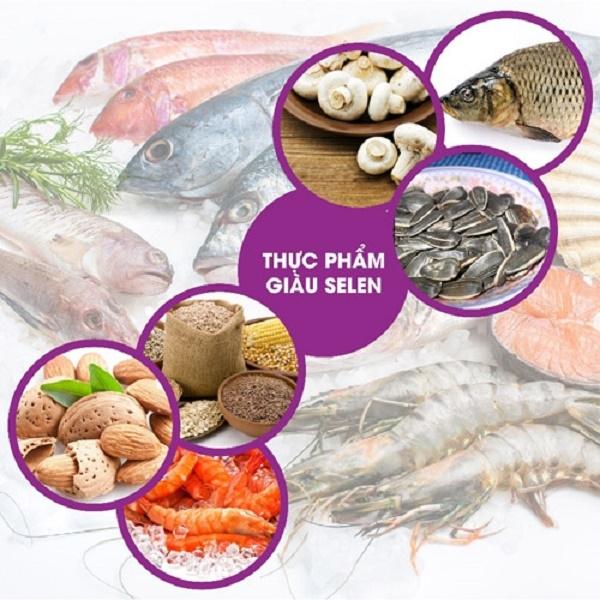 Thực phẩm chứa selen