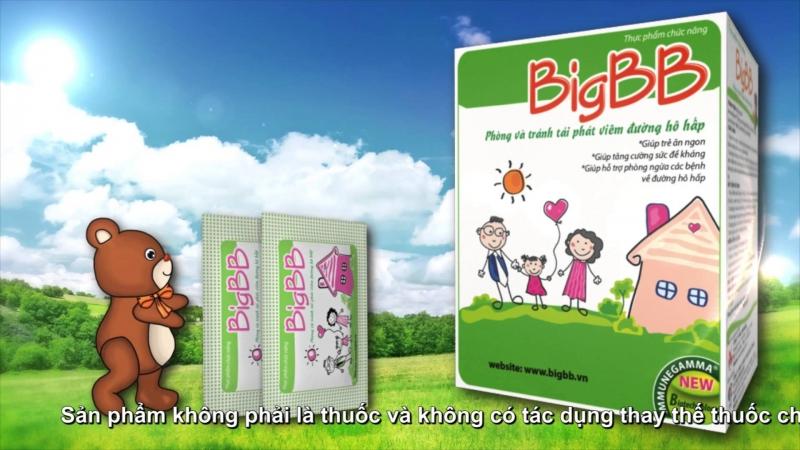 Hỗ trợ hệ tiêu hoá tốt nhất cho trẻ là sản phẩm BigBB