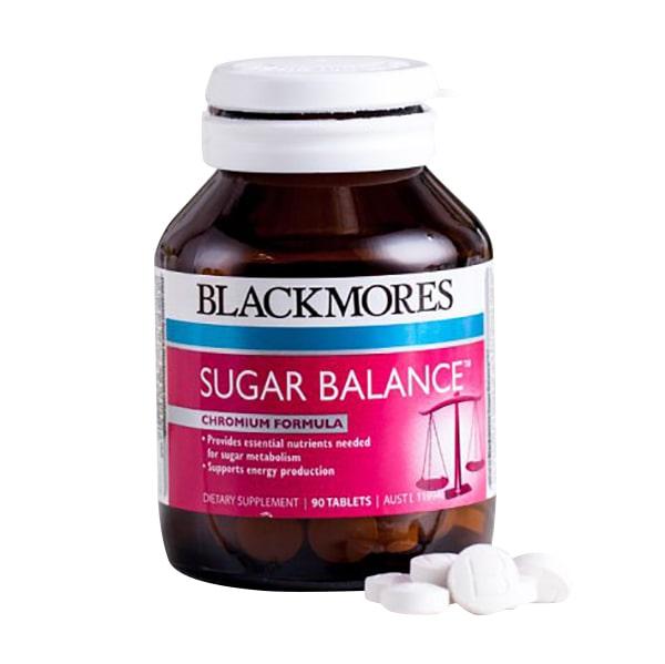 Thực phẩm chức năng Blackmores Sugar Balance 90 viên của Úc cân bằng đường huyết