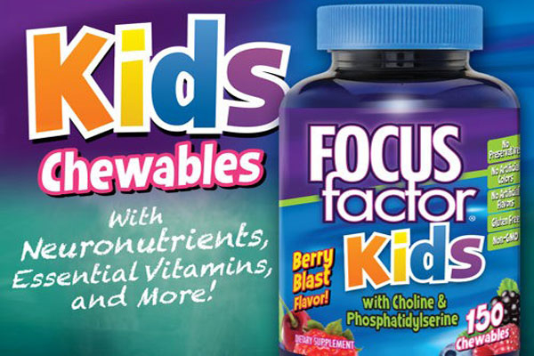 Kẹo Dẻo Cho Trẻ Focus Factor Kids