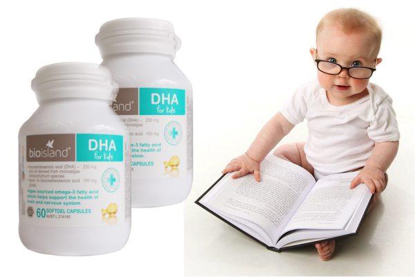 Top 10 thực phẩm chức năng bổ sung DHA tốt nhất cho bé phát triển thông minh