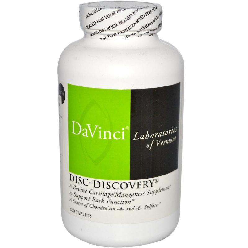 Viên uống Davinci Disc-Discovery điều trị thoát vị đĩa đệm
