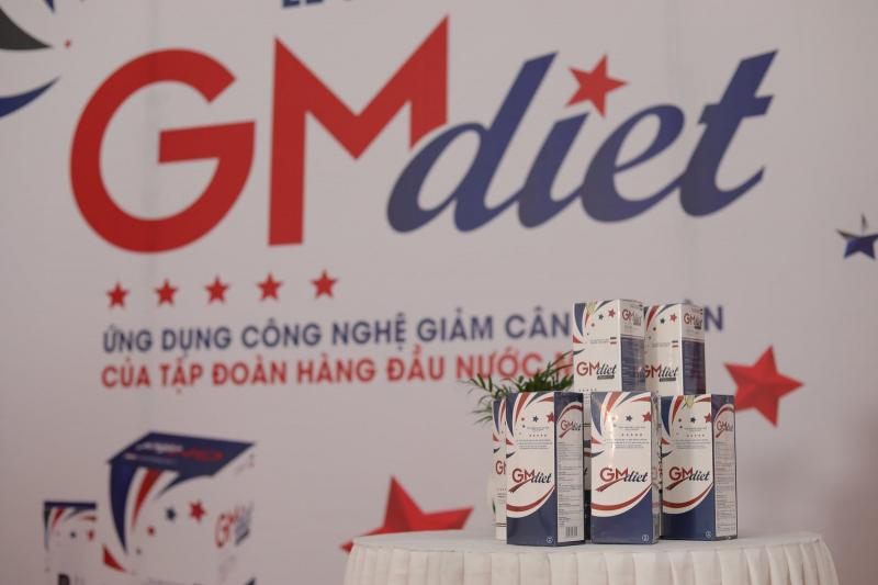 Thực phẩm chức năng giảm cân GM Diet ứng dụng công nghệ Mỹ