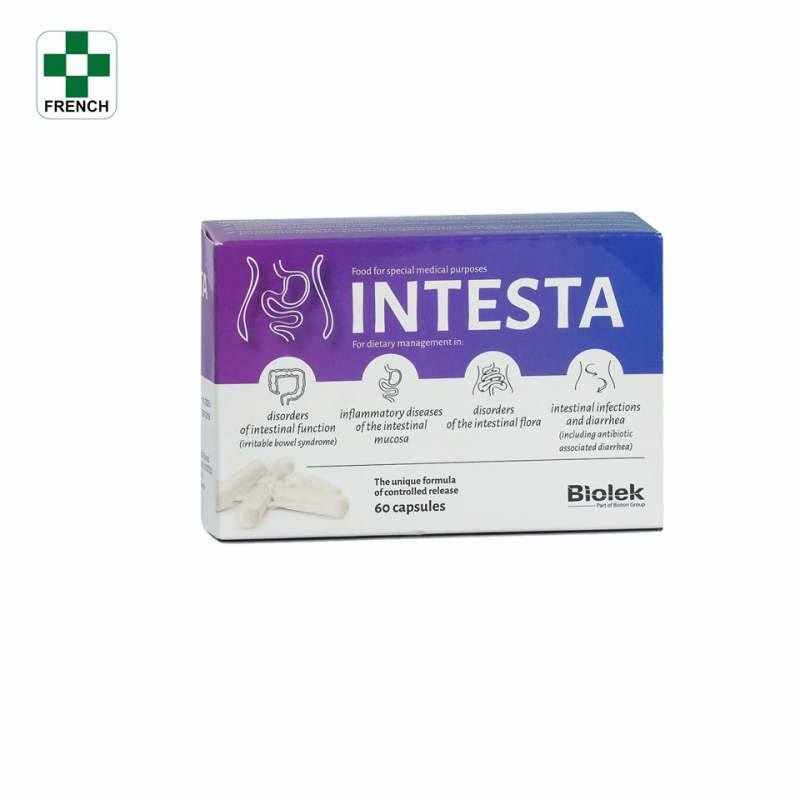 Thực phẩm chức năng hỗ trợ điều trị viêm đại tràng cấp tính INTESTA