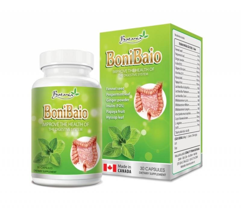 Thực phẩm chức năng hỗ trợ điều trị viêm đại tràng co thắt BoniBaio