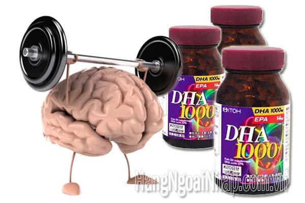 Thực phẩm chức năng Thuốc Bổ Não Dha 1000mg & Epa 14mg Itoh 120 Viên của Nhậ