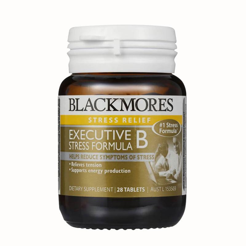 Thực phẩm chức năng viên giảm stress Blackmores Executive B Stress Formula 28v