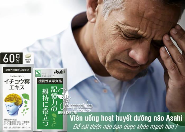 Sản phẩm cho người lớn, hỗ trợ phòng ngừa và điều trị các chứng bệnh liên quan đến trí nhớ, tuần hoàn máu não, tai biến, tổn thương não,...