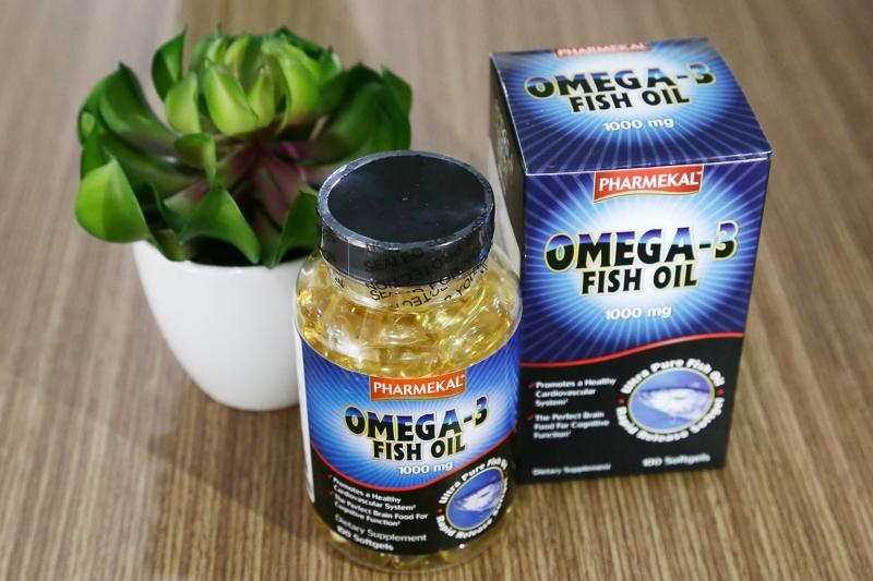 Thực Phẩm Chức Năng Viên Uống Pharmekal Omega 3 Fish Oil