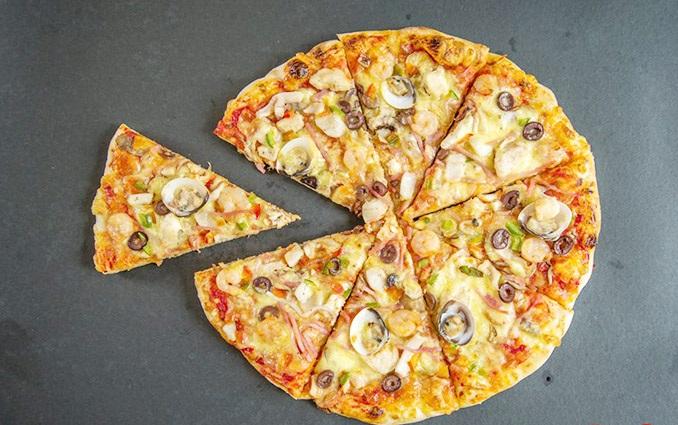 Thực phẩm đóng gói sẵn – bánh pizza đông lạnh
