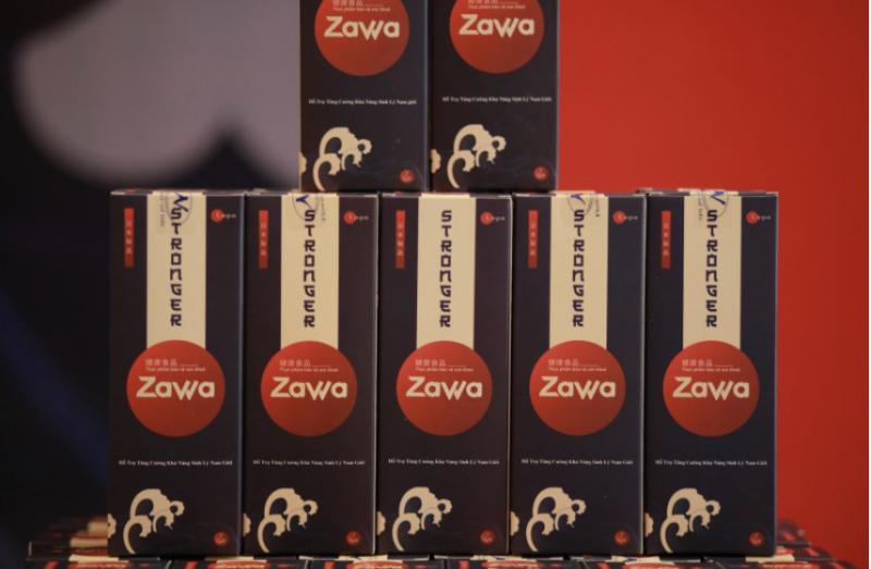 Thực phẩm sinh lý dạng nước đầu tiên Zawa - Công nghệ Nhật Bản