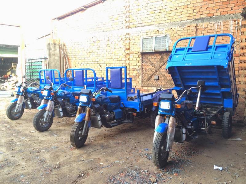 Thuê xe ba gác giá rẻ quận Bình Tân