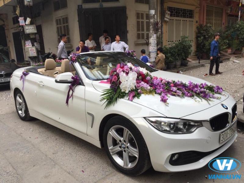 Thuê xe cưới Vân Hải