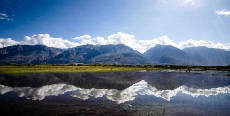 Thung lũng Nubra là một trong những danh lam thắng cảnh thiên nhiên đẹp ngoạn mục nhất tại Ấn Độ