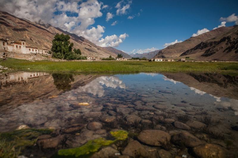 Thung lũng Zanskar là nơi để bạn thỏa ước nguyện thoát ra khỏi nhịp sống đô thị ồn ào bên ngoài