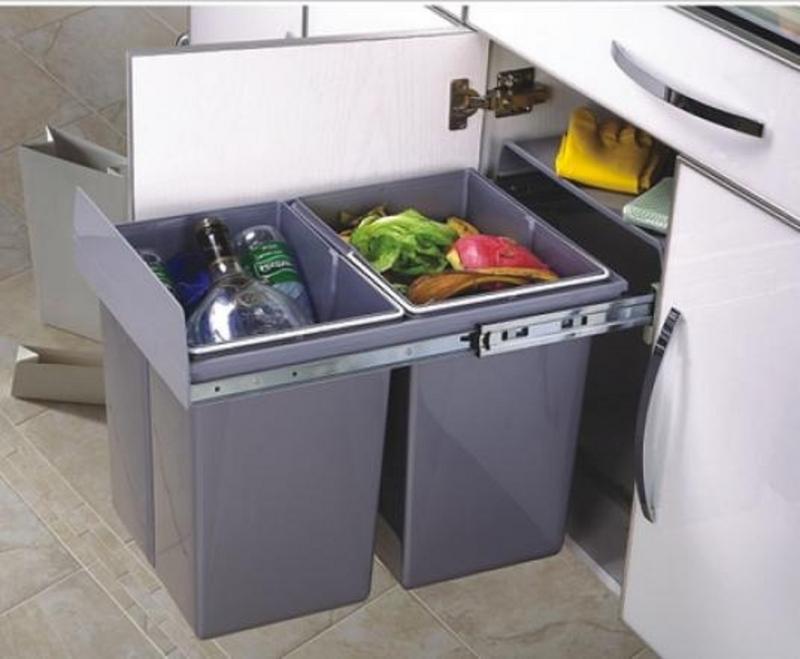 Thùng rác hiện đại cho nhà bếp