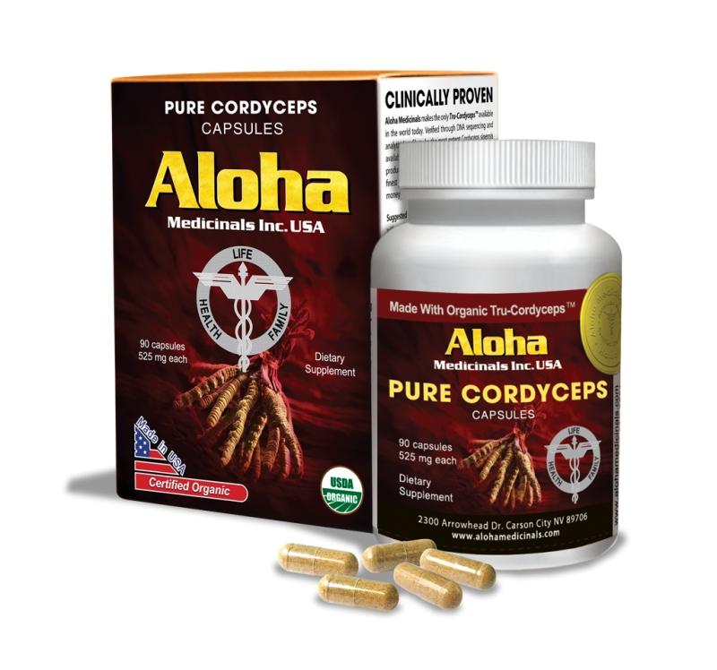Đông Trùng Hạ Thảo Aloha được chiết xuất 100% từ đông trùng hạ thảo tự nhiên