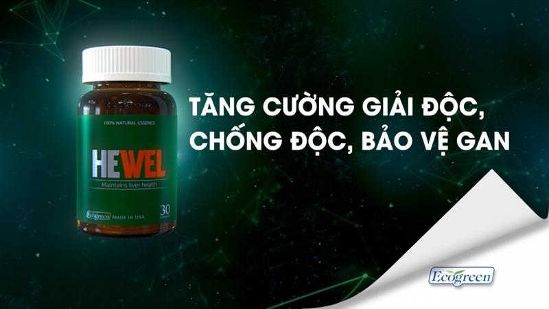 Hewel là sản phẩm nổi tiếng đến từ Mỹ, được nhiều chuyên gia y tế thế giới khuyên dùng