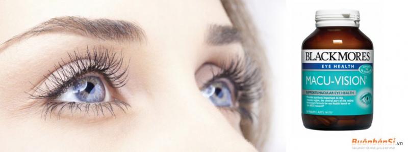 blackmores Macu Vision cung cấp những chất dinh dưỡng chất chống oxy hoá quan trọng cho quá trình duy trì và bảo vệ mắt khỏe mạnh.