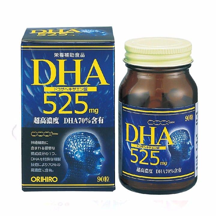Thuốc bổ não DHA 525 Orihiro của Nhật